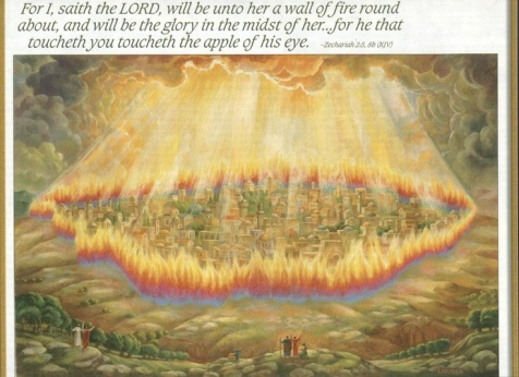 Wall of Fire Around Pentecost Nation